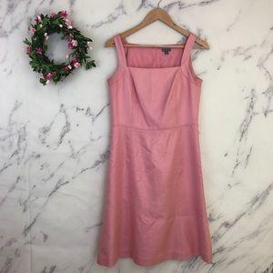 Ann Taylor Silk Fit & Flare Dress